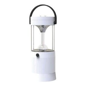 ランタンライト 防災グッズ マクセル 水と塩で発電するLEDランタン (MS-T210WH) 水と塩で発電できる!80時間連続点灯可能