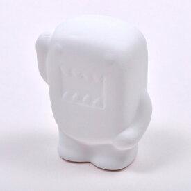絵付け陶器 おえかき どーもくん 10個セット販売 水性ペン・色鉛筆などで描けます 真っ白な陶器でできた立体おえかき 手作りキット