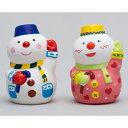 お絵かき スノーマン(陶器)貯金箱 30個セット販売 クリスマス 雪だるま 陶器でお絵かき ワークショップ・絵付…