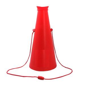 メガホン 赤 26cm 応援・学園祭・体育祭・運動会 30個セット販売