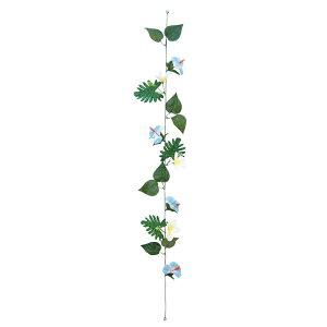 ショートガーランド ハイビスカス&プルメリア ブルー 24個セット販売