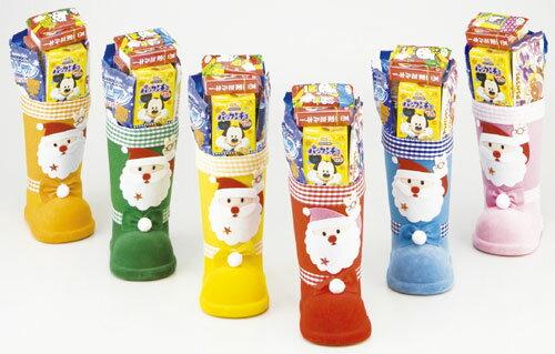 クリスマス 景品 カラフルブーツ お菓子入り(6色アソート) 高さ約34.5cm ※こちらの商品はまとめ売りの為、8個の倍数でのご注文お願い致します ※カートン割れ・代引き決済不可