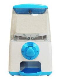 ガチャマシーン GACHA CUBE(ガチャキューブ)メダル仕様 本体 ブルー 『専用メダル』で回る卓上設置タイプのガチャガチャ ※メダル、カプセルは別売りです