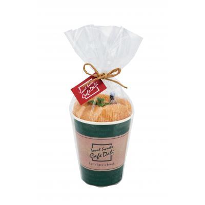 タオルスイーツ  CafeDeli ラテタオル 120個セット販売