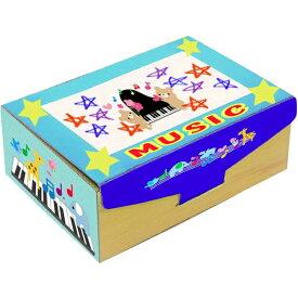 プレゼント オルゴール箱 製作キット 10個販売 段ボール製 フォトフレーム付き クリスタル