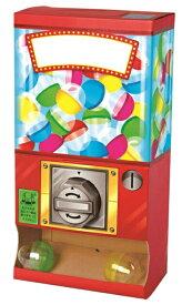 ガチャマシーン ガチャガチャ組み立てキット くるっとポン ガチャガチャが作れる工作キット カプセルを入れて遊ぶことも出来ます