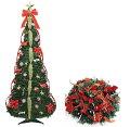 【30代女性】忙しい妻へお手軽ツリーをプレゼント!折りたたみクリスマスツリーって?