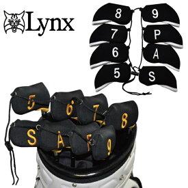 【メール便発送可】 Lynx リンクス アイアンカバー 8個セット(5-9,P,A,S)