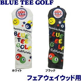 BLUE TEE GOLF ブルーティーゴルフ スマイル&ピンボール ヘッドカバー フェアウェイウッド用