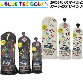BLUE TEE GOLF ブルーティーゴルフ スマイル&カート ヘッドカバー