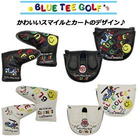 BLUE TEE GOLF ブルーティーゴルフ スマイル&カート パターカバー