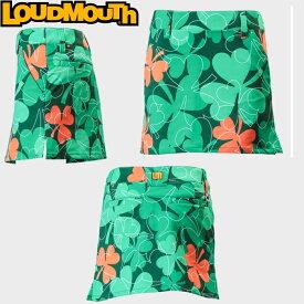 LOUDMOUTH ラウドマウス レディース スカート/スコート 767-352 064 LuckyOrange ラッキーオレンジ