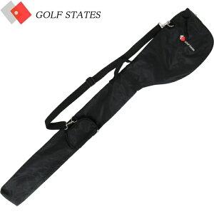 ゴルフステーツ GSCC-1010 クラブケース 5〜6本収納可能 ショルダーベルト/小物収納ポケット付