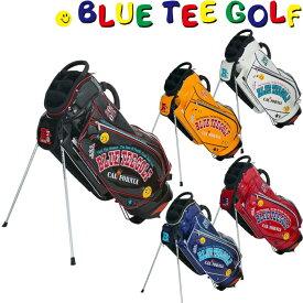 BLUE TEE GOLF ブルーティーゴルフ エナメル スタンドキャディバッグ 9型 BTG-CB012