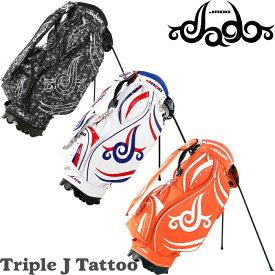 【数量限定】 JADO ジャド Triple J Tattoo スタンド キャディバッグ 9型 JGSTCB-8222 トリプル ジェイ タトゥ