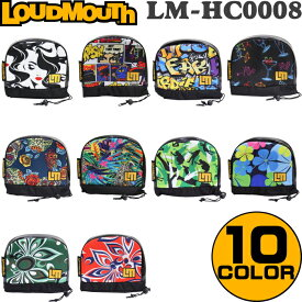 LOUDMOUTH ラウドマウス ヘッドカバー アイアン用(アイアンカバー) LM-HC0008/IR