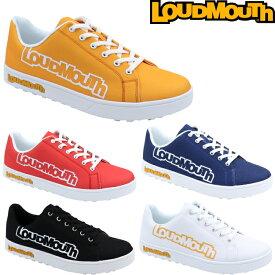 Loudmouth ラウドマウス LM-GS0002 スパイクレス ゴルフシューズ 【メンズ/レディース】 (ビッグロゴ/769-991-1)
