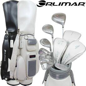 オリマー ORM-200 レディース ゴルフセット クラブ8本+キャディバッグ付