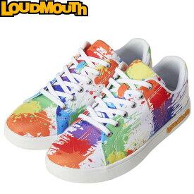 Loudmouth ラウドマウス LM-GS0002 スパイクレス ゴルフシューズ Drop Cloth(001)【メンズ/レディース】