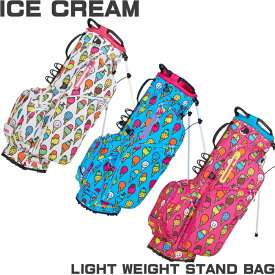 WINWIN STYLE ウィンウィンスタイル ICE CREAM LIGHT WEIGHT スタンドバッグ 【アイスクリーム】