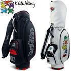 キースヘリング KHCB-07 キャディバッグ 5Figs 9型 【Keith Haring キース・ヘリング】