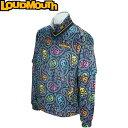 Loudmouth ラウドマウス 2WAY 裏蓄熱 プルオーバー ブルゾン 726-506 ジョリーロジャー 026 【メンズ ゴルフウェア】