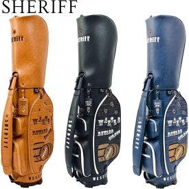 SHERIFF シェリフ SFW-011 ウエスタン シリーズ キャディバッグ 【限定88本】