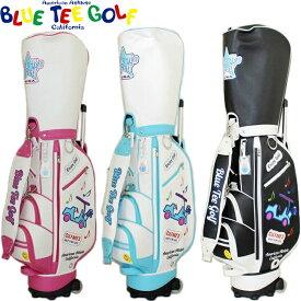 BLUE TEE GOLF ブルーティーゴルフ キャスター付き レディース キャディバッグ BTG-CB016