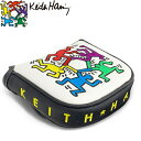 キースヘリング KHPC-10 パターカバー マレットタイプ用 【Keith Haring キース・ヘリング】