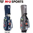 M・U SPORTS MUスポーツ 703D1124 キャディバッグ レギュラーソール