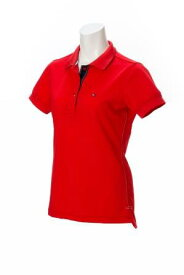 Tommy Hilfiger THLA707トミーヒルフィガーゴルフ レディースBASIC FLAG半袖ポロシャツ