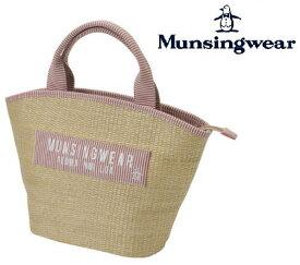 Munsingwear MGCNJA48ウィメンズ かごバッグ風ラウンドトート