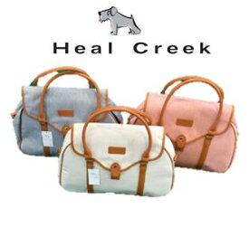 Heal Creek003-87263ヒールクリークキャンバス地 ボストンバッグ