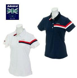 Admiral GOLF ADLA906アドミラル ゴルフ レディーストリコロール襟 ポロシャツ