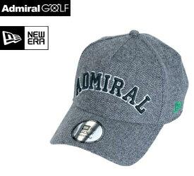 Admiral GOLF × NewEra GOLFADMB971Fアドミラルゴルフ×ニューエラ ゴルフ【2019年秋冬限定】コラボキャップ