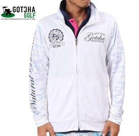 GOTCHA GOLF 182GG1601ガッチャゴルフ メンズUVカットドライスタンドブルゾン