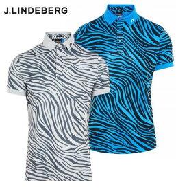 J.LINDEBERG071-22443ジェイリンドバーグ メンズサファリモチーフポロシャツ