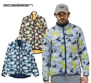 Rosasen 044-53111ロサーセン メンズリバーシブル中綿プリントブルゾン