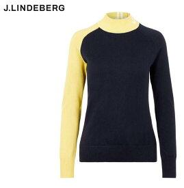 J.LINDEBERG072-13911GWKW02700ジェイリンドバーグ レディース長袖ハイネックニットESTELLE SWEATER