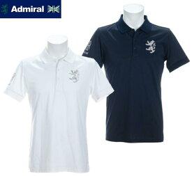 Admiral GOLFADMA115アドミラルゴルフ メンズ10周年モデル 半袖ポロシャツ
