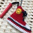 <単品販売>ゴルフカバー ピンパターゴルフコース手作りかわいいインスタ映えインスタスニーカーソックス毛糸オリジ…