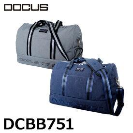 ドゥーカス ボストンバッグ DCBB751 スタイリッシュ クラブバッグ メンズ レディース 大人 おしゃれ バッグ トラベル 旅行 大容量 W46 H32 D23cm DOCUS コアーズ楽天市場店