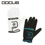 (メール便対応)ドゥーカスゴルフツアーグローブホワイトブラック[21-26]GloveDCGL-TOUR701[DOCUS]