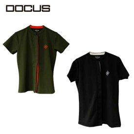 ドゥーカス シャツ 2021 春夏 かわいい おしゃれ 女子 ゴルフ ウェア 映え DOCUS DCL21S002 Fly Front Shirt コアーズ楽天市場