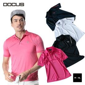 (クリアランス)クールポロ ドゥーカス 2020 春夏 ゴルフ ウェア メンズ 大人 かっこいい おしゃれ 半袖 ポロ シャツ DOCUS Cool Polo dcm20s005 コアーズ楽天市場店 あす楽