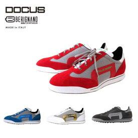 (先着購入特典付き)ドゥーカス イタリア製 スパイクレス シューズ メンズ ゴルフ お洒落 上質 高品質 替え紐 シューズバック付き DOCUS BERIGNANO MADE in ITALY Shoes DCSH751 あす楽