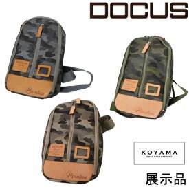(訳あり)店頭ディスプレイ品 ドゥーカス DOCUS メンズゴルフ 日本製 ボディバッグ 小山ゴルフモデル あす楽