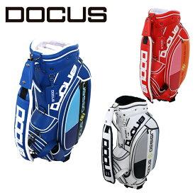 ドゥーカス スタイリッシュ キャディバッグ 9インチ メンズ レディース 大人 かっこいい おしゃれ 大容量 ゴルフ バッグ DOCUS DCC743 コアーズ楽天市場店