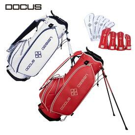 ドゥーカス スタンドキャディバッグ DOCUS Stylish Stand Bag スタイリッシュ スタンド バッグ メンズ ゴルフ 9型 DCC751s ヘッドカバー付き かっこいい オシャレ クール 大人 コアーズ楽天市場店