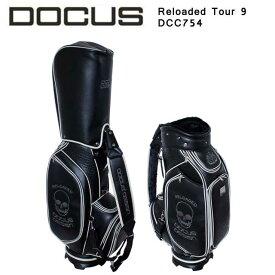 ドゥーカス DOCUS Reloaded Tour リローデッド ツアー キャディバッグ メンズ ゴルフ 9型 DCC754 かっこいい オシャレ クール 大人 コアーズ楽天市場店 あす楽